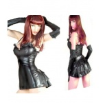 Leather Babydoll Dress_CG_L38041